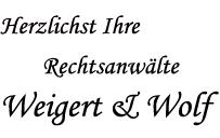 Rechtsanwälte Weigert & Wolf